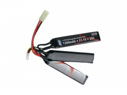 ASG LiPO Batteri 11,1V 1300mAh 3 Sticks