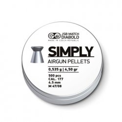 JSB Simply, 4,50mm - 0,520g 500st