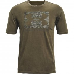 Under Armour ABC Camo Boxed Logo SS - Victory Green