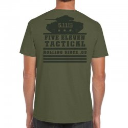 5.11 Tactical Rolling Panzer T-shirt Military Green