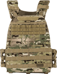 5.11 Tactical TacTec Plate Carrier Multicam