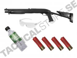 Airsoft Kit ASG Shotgun Franchi SAS 12 flex-stock