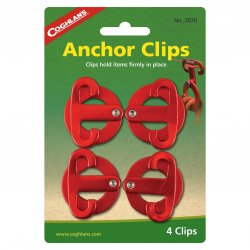 Coghlands Anchor Clips 4-Pack