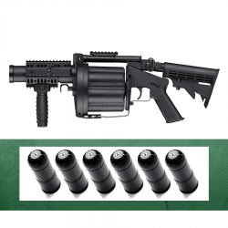 Airsoft Granatkastar Kit ICS Multiple Grenade Launcher