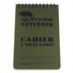All-Weather Notebook 10x15cm