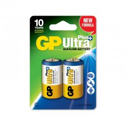 Batteri GP Ultra C-cell 14AUP/LR14 2-Pack
