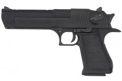 Cybergun WE Desert Eagle .50AE Gas 6mm - Svart