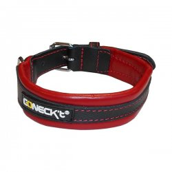 CONECK'T COLLAR EVERY DAY LIFE Leather Red