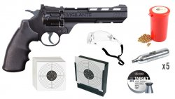 Crosman Revolver Vigilante 4,5mm CO2 Startpaket
