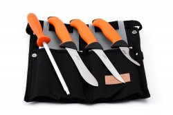 Butcher Set Orange