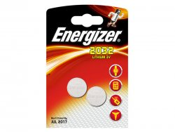 Energizer Lithium CR2032 2-Pack