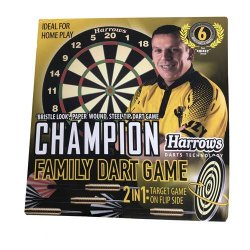 Harrows Dartboard Family Dartgame