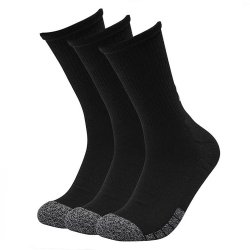 Under Armour Adult HeatGear® Crew Socks 3-Pack