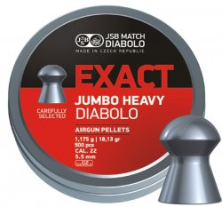 JSB Exact Jumbo Heavy, 5,52mm - 1,175g
