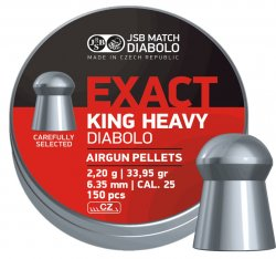 JSB Exact King Heavy MKII, 6,35mm - 2,200g