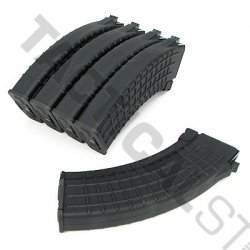 AK 600 Rounds Waffle Pattern Magazines Box Set (5pcs)