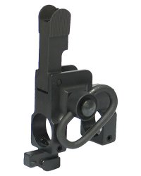 King Arms Tactical Flip Up Front Sight with Sling Swivel for Marui