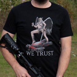 In Mag Fed We Trust T-Shirt By Warheads Paintball