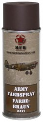 MFH Army Spray Paint 400 ml Brown Matt
