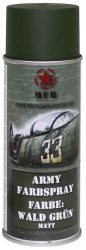 MFH Army Spray Paint 400 ml Forest Green Matt