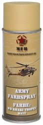 MFH Army Spray Paint 400 ml Kaki Matt