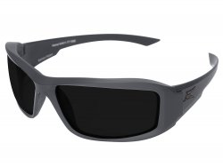 Edge Hamel Gray Wolf Thin Temple Gray Frame / Polarized Smoke Lens