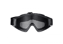 PCP Eye Protection Eye Wear Goggle Mask for Airsoft Paintball Protective Black