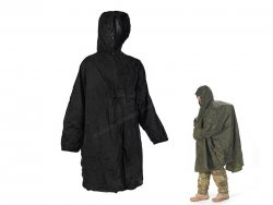 Enhanced Patrol Poncho Black