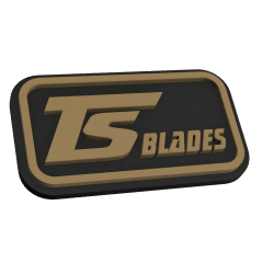 TS Blades PVC Patch