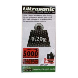 UltraSonic Competition Grade 0,20 - 5000st Svarta