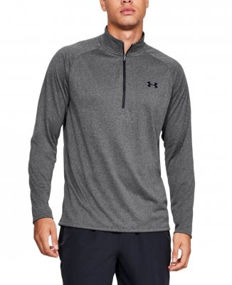 Under Armour Tech 2.0 1/2 Zip - Carbon Heather