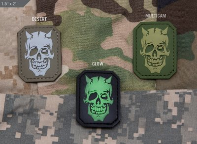 Patch MSM PVC - MM Devil Skull