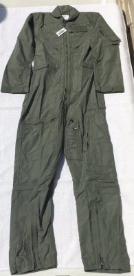 Isratex Inc Nomex Flight Suit, Sage Green, Fire Resistant