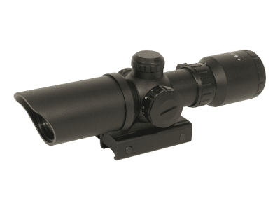 Swiss Arms Compact Scope 1,5-5x32 Röd/Grön