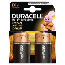 Duracell Plus Power - D