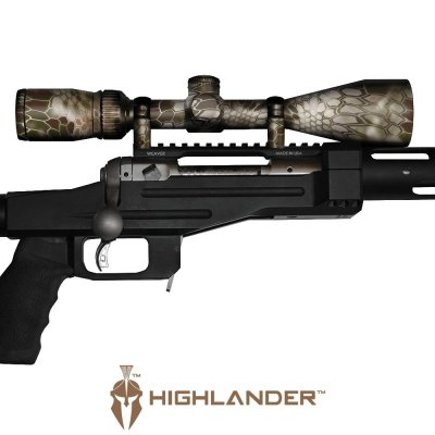 GunSkins® Scope Skin - Kryptek Highlander