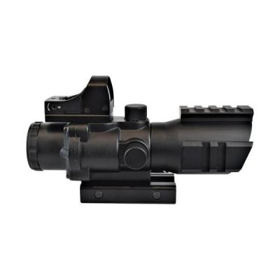 JS Tactical 4x Optik med Red Dot