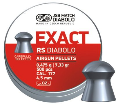 Exact RS, 4,52mm - 0,475g