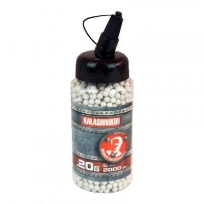 Kalashnikov 0,20g BB - 2000 Quick loader Bottle