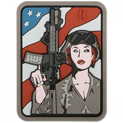 Maxpedition Patch - Soldier Girl