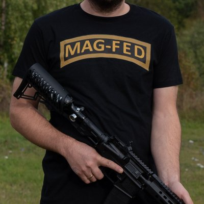 Mag-Fed T-Shirt By Warheads Paintball