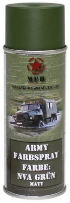 MFH Army Spray Paint 400 ml NVA Green Matt
