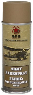 MFH Army Spray Paint 400 ml Tan Matt