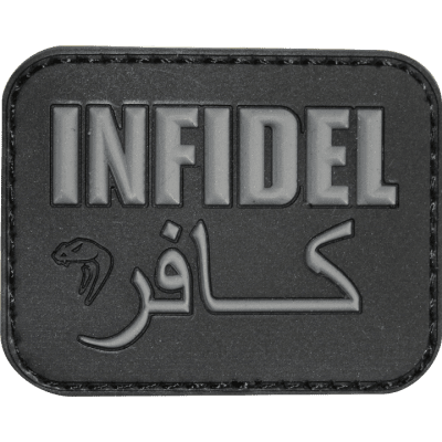 PVC Patch Infidel