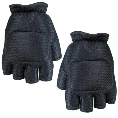 Soft Back Paintball Fingerless Gloves
