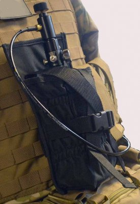 Tippmann Molle Tank Holder - Black