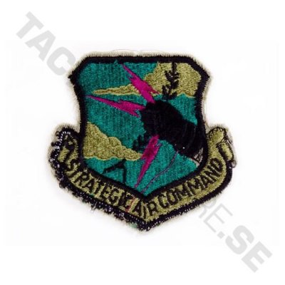 Tygmärke Strategic Air Command