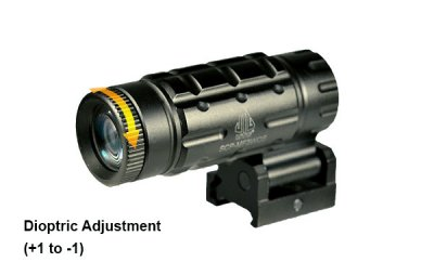 UTG 3X Magnifier with Flip-to-side QD Picatinny Mount