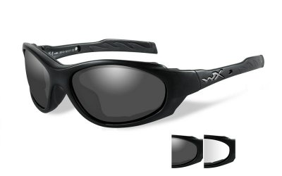 WileyX XL-1 ADV Smoke/Clear Matte Black Frame