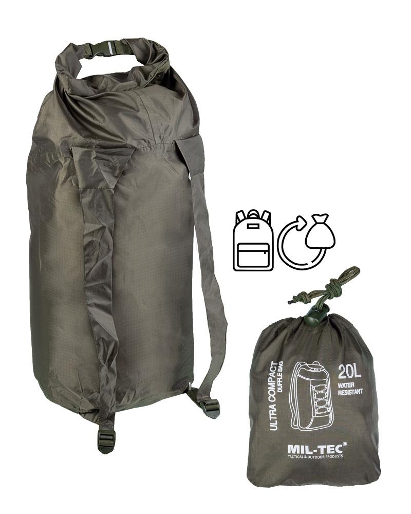 Miltec Seesack Ultra Compact Duffle Bag 20L